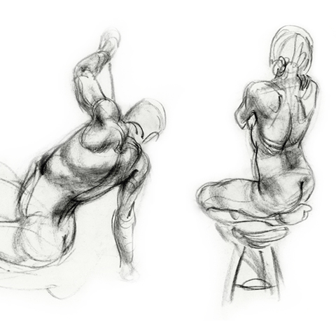 Louise Clark 3 min study The Drawing Academy