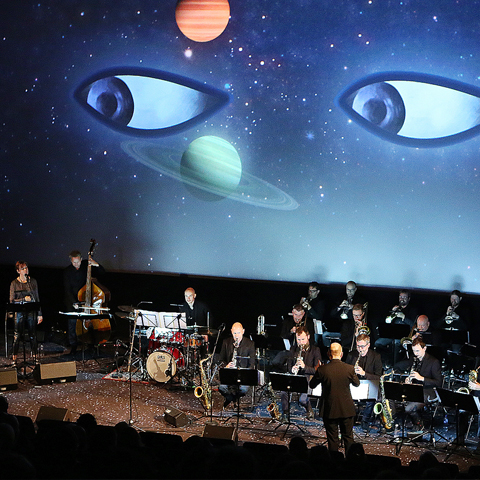 Solar Walk live performance during Viborg Animation Festival