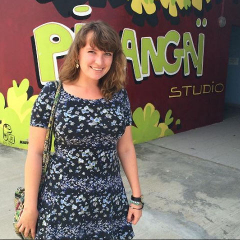 Julie Batlzer interned with Pipangai Studios during her studies at The Animation Workshop